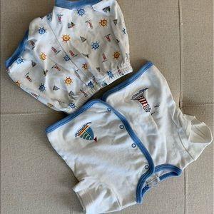 Infant boy sleep set